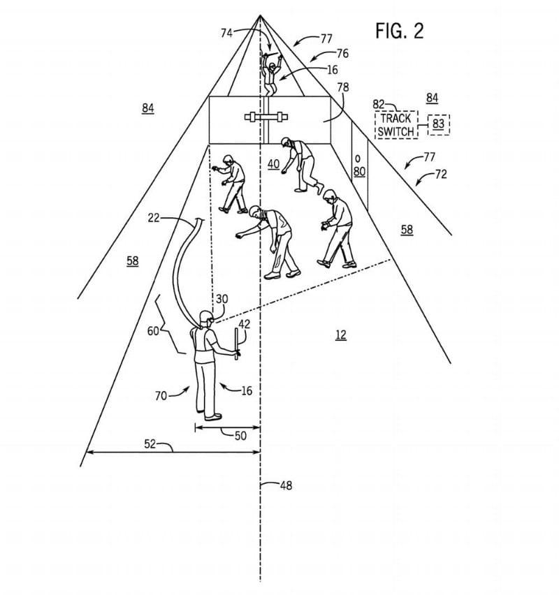 VR tether Universal LLC patent