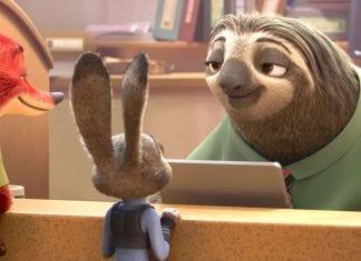 sloth zootopia
