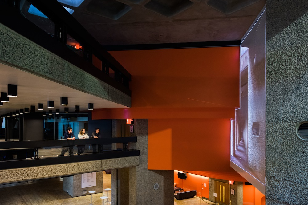 Christie-Barbican-digital-wall-installation-by-Rachel-Ara