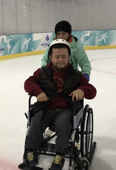 Overcoming-the-Barriers-Istanbul-wheelchair-on-ice-rink