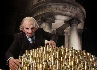 harry potter studio tour gringotts