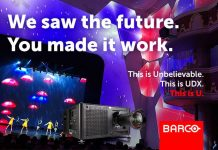 Barco UDX at ISE 2019