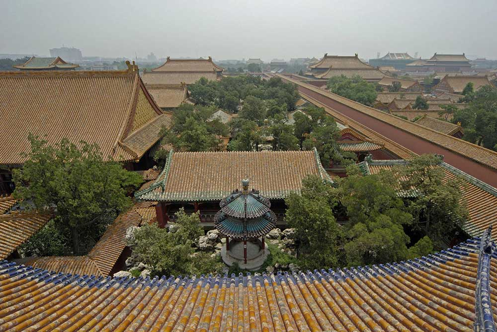 Qianlong Garden restoration at the Palace Museum