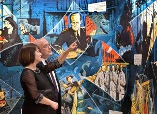 Nancy-David-Wolf-Holocaust-&-Humanity-Center-Neltner-Mural