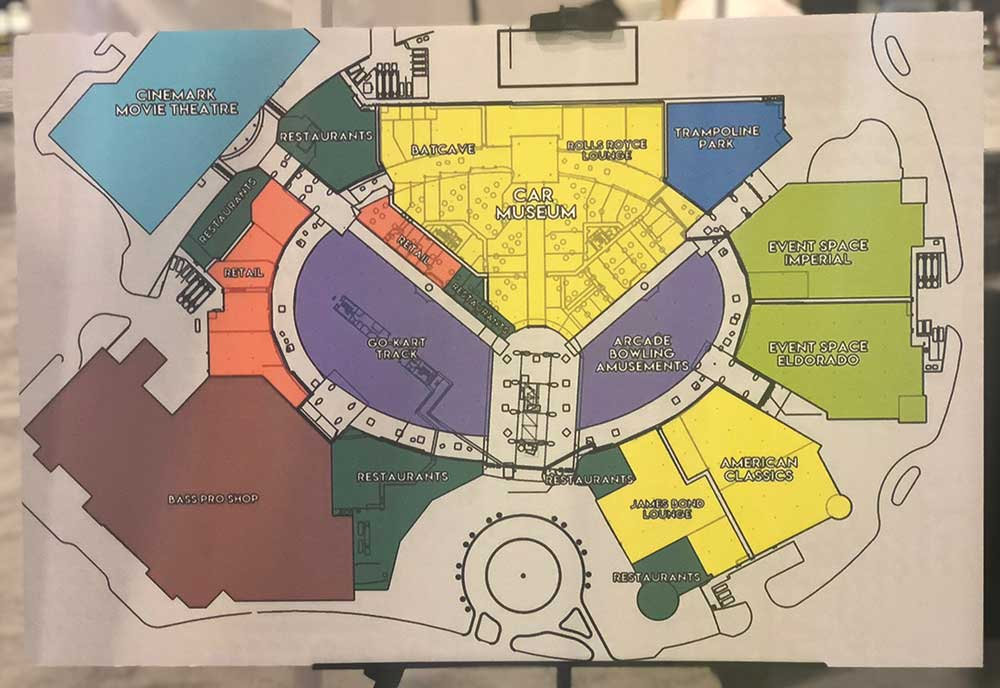 Dezerland Action Park plan
