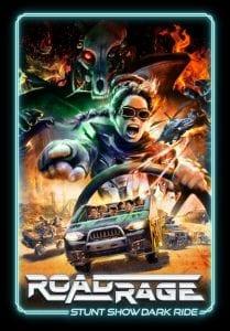 Road-Rage-stunt show dark ride Trans-Studio-Bali_poster