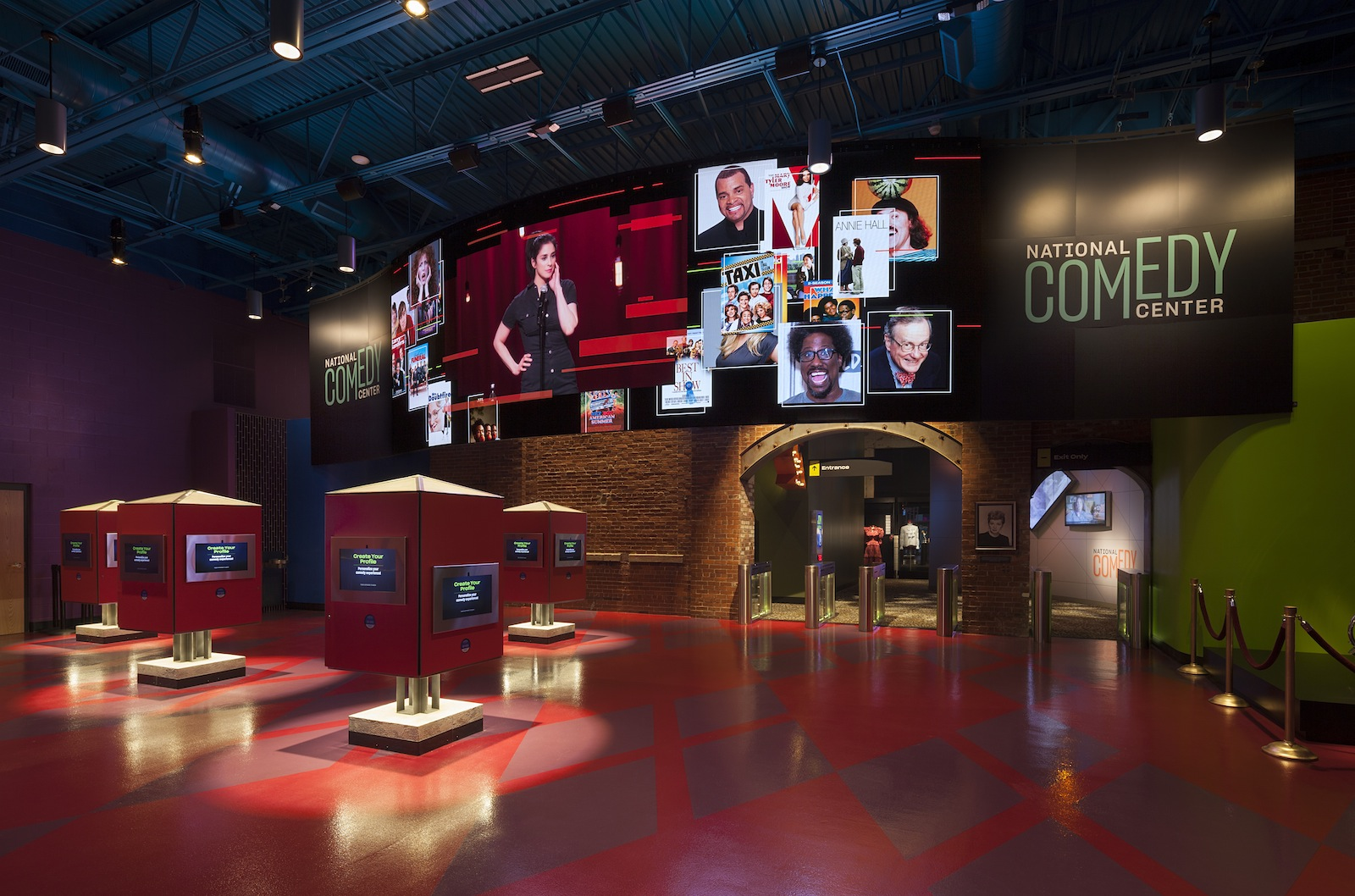 Marketing Exhibition Stand Up Comedy : National comedy center the best new museum in the usa? blooloop