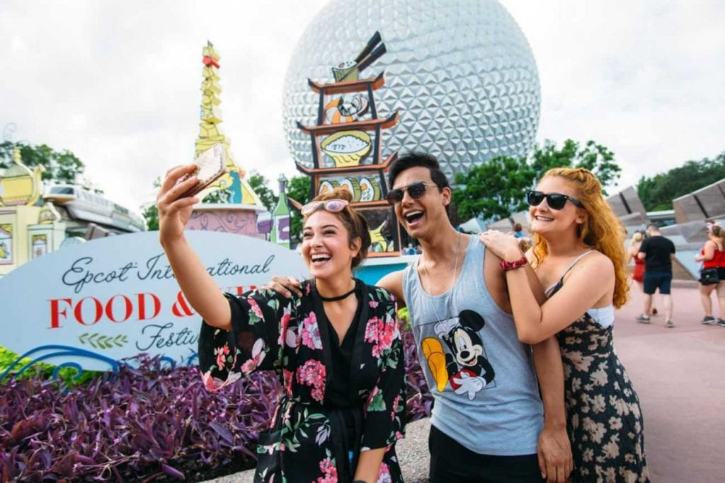 Epcot's International Food and Wine Festival 2018 - the park is number 6 on our list of the world's world's top theme parks of the decade