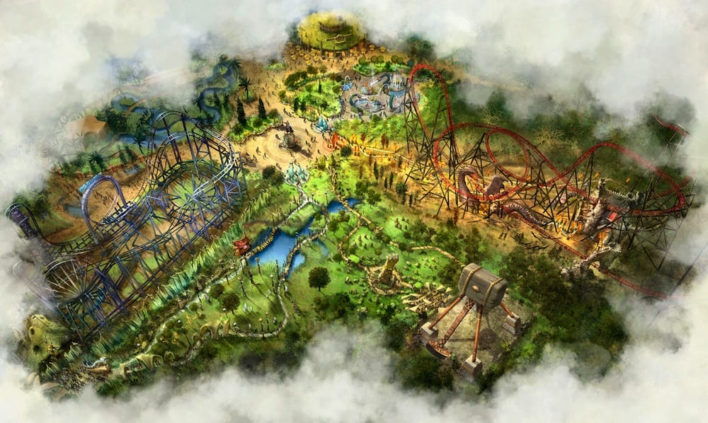 Bobbejaanland_Lands-of-Legends-birdseye-view