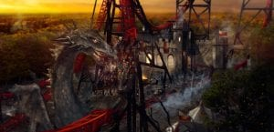 Bobbejaanland Land of Legends Fury rollercoaster magical adventures
