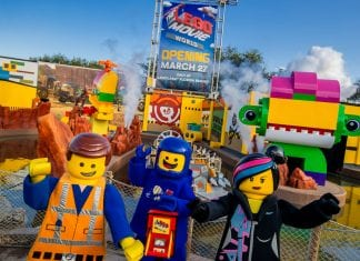 lego movie world opening date