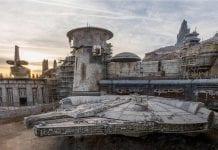 milennium falcon star wars galaxys edge opening date