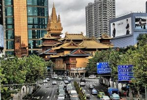 Jing'an cultural development in Shanghai includes museums and theatre
