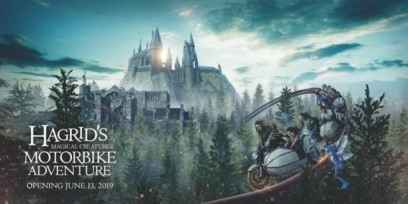 Hagrid's Magical Creatures Motorbike Adventure Universal Orlando, magical adventures