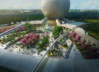 Disney reimagines entrance to Epcot