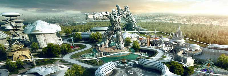YouTuber Nathie takes a look inside VR Star Theme Park, China