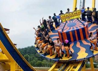 MAPS Perak theme park SpaceXplorers thrill ride