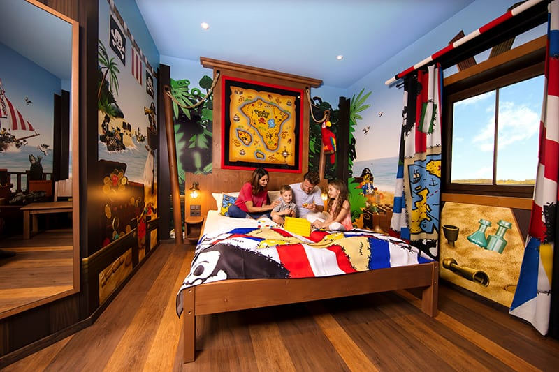 LEGOLAND themed hotel room