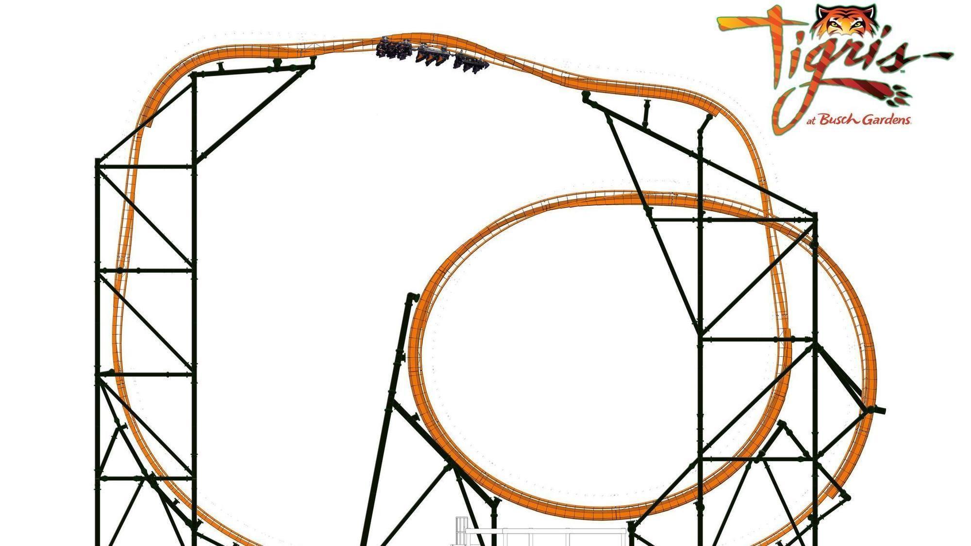 Tigris busch-gardens-roller-coasters