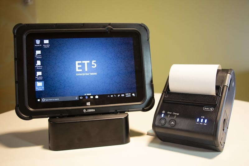 Event-Network-mobie POS tablet