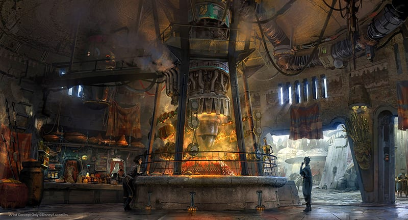 Star Wars: Galaxy's Edge Ronto Roasters
