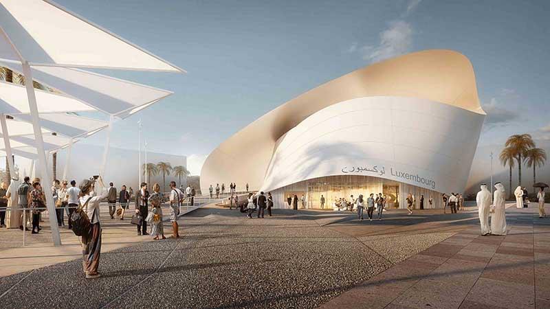 Expo2020 Dubai Luxemborg Pavilion