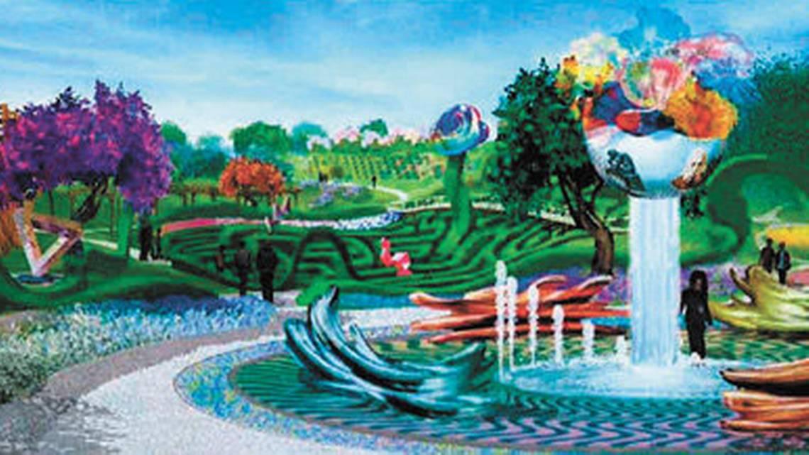 Sensorio concept art Paso Robles, artainment