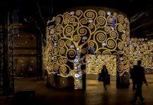 klimt atelier des lumieres culturespaces artainment