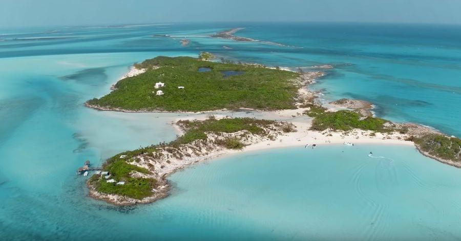 Fyre Festival promoted island in the Bahamas Great Exuma