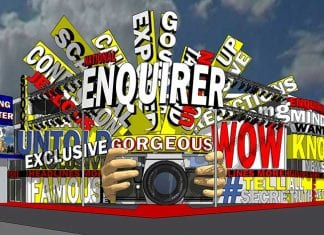 National Enquirer Live immersive museum shocking museum exhibitions