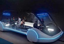 Las Vegas Elon Musk tunnel