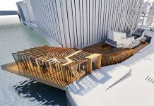 SPPARC Plans unveiled for cantilevered Golden Hinde Visitor Centre and Museum
