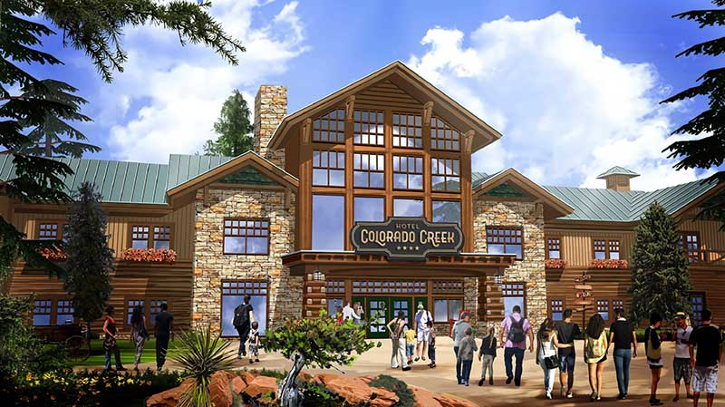 PortAventura World Colorado Creek hotel sustainability