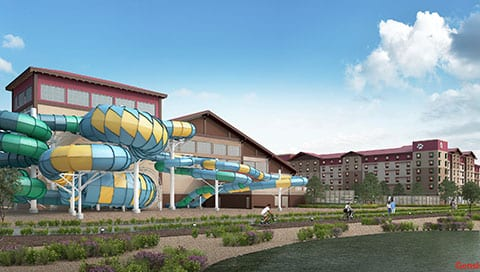 Great Wolf Lodge Arizona Concept new water parks