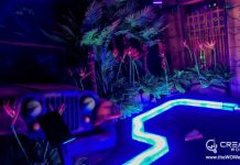 Hamilton-Lanes-mini-golf-with-Electric-Edging-Jeep-scene