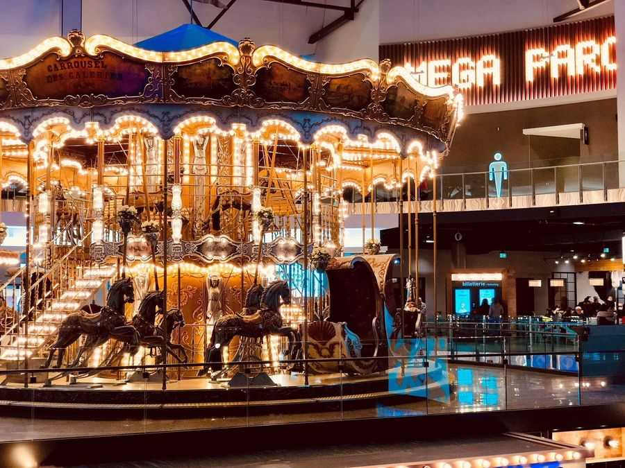 Carrousel at Mega Parc