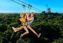 Xcaret Parks Xplor Zipline adventure play