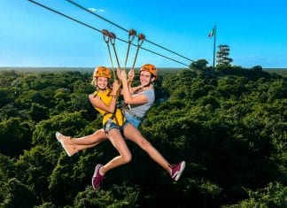 Xcaret Parks Xplor Zipline adventure play