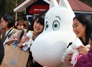 Moomin Valley Park officially opens in Japan