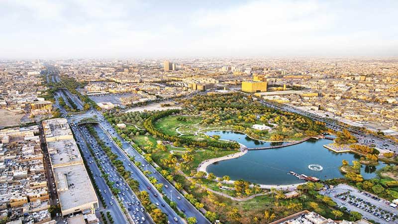 Green Riyadh Saudi Arabia