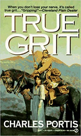 true grit vintage book cover perseverance
