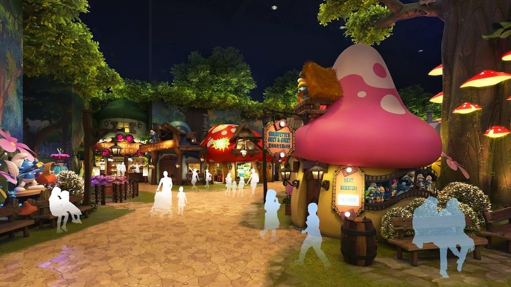 KCC_Smurfs-Theme-Park_village