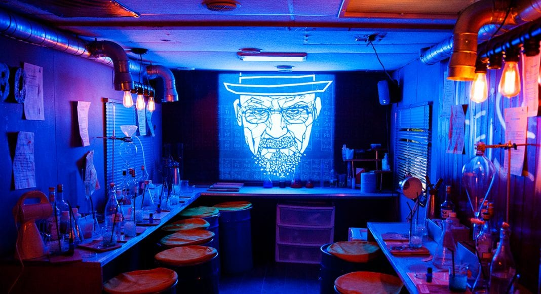 abq breaking bad themed bar eatertainment themed drinks