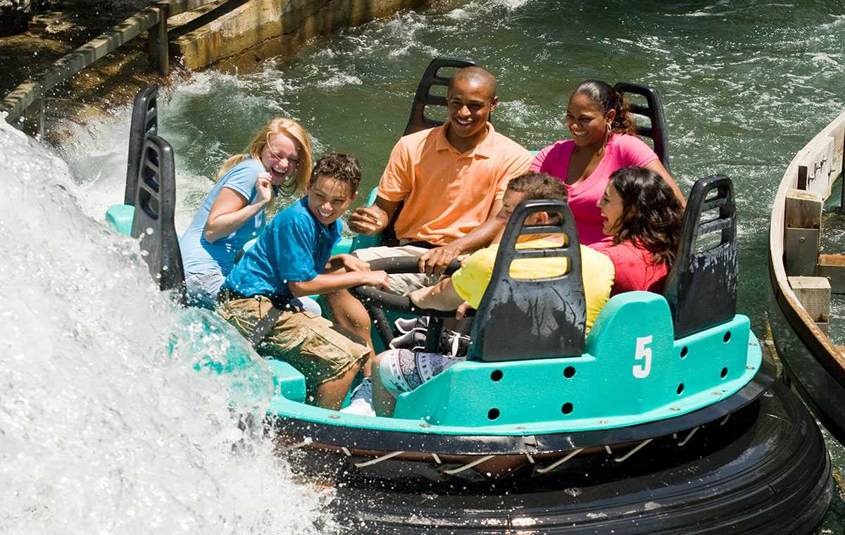 Why are water rides in theme parks becoming less popular