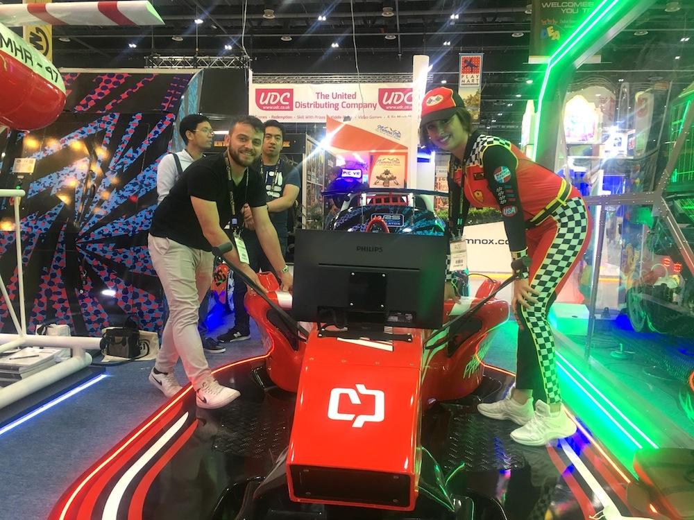 DEAL-Dubai-2019-racing-car-arcade-game