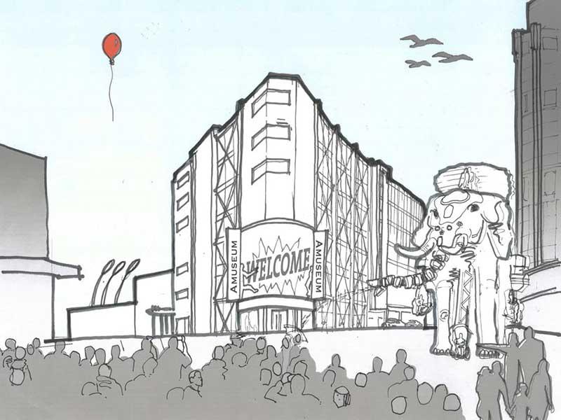 Amuseum Blackpool Buttress Architects