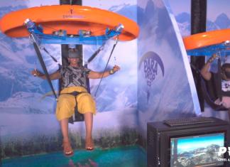 ParadropVR at VR Theme Park Dubai Mall