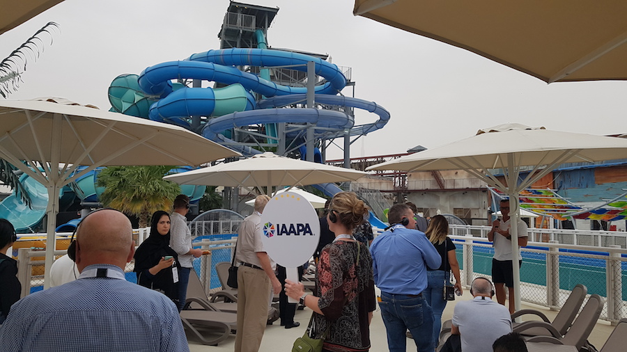 Laguna Water Park Louvre abu dhabi global village IAAPA Spring Leadership forum 2019