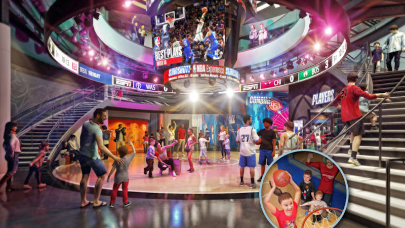 NBA Disney Springs