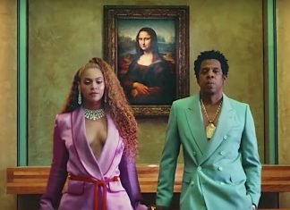 Beyonce Jay-Z Apesht Mona Lisa Musee du Louvre